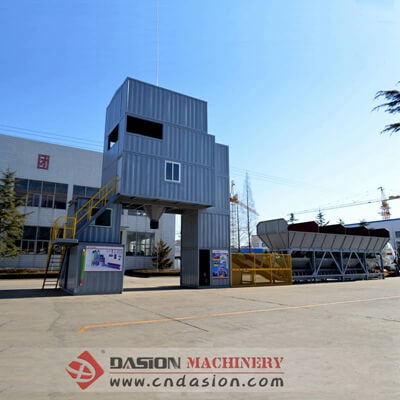 Container Concrete Batching Plant