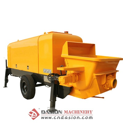 Motor Concrete Trailer Pump