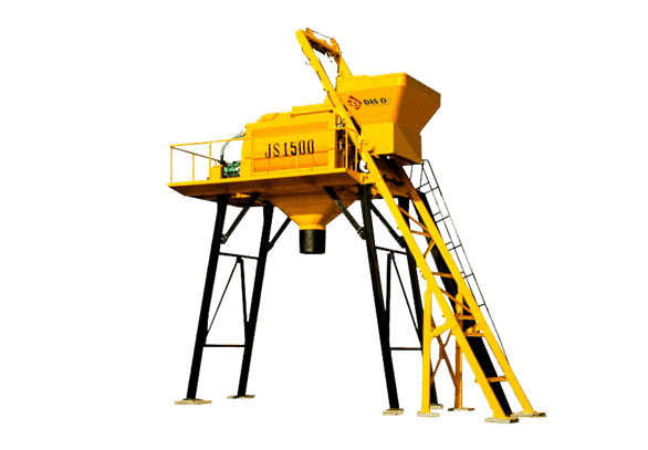 JS Series Twin Shaft Concrete Mixer