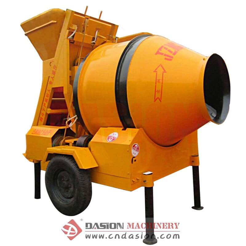 JZM Electrical Drum Concrete Mixer