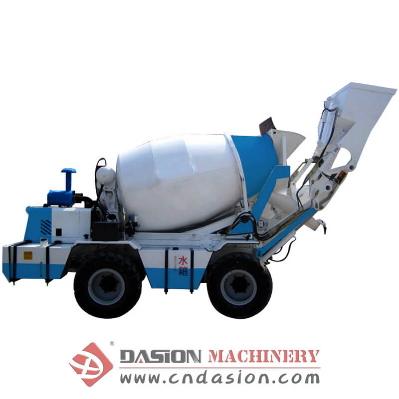 Self-loading Concrete Mixing Station