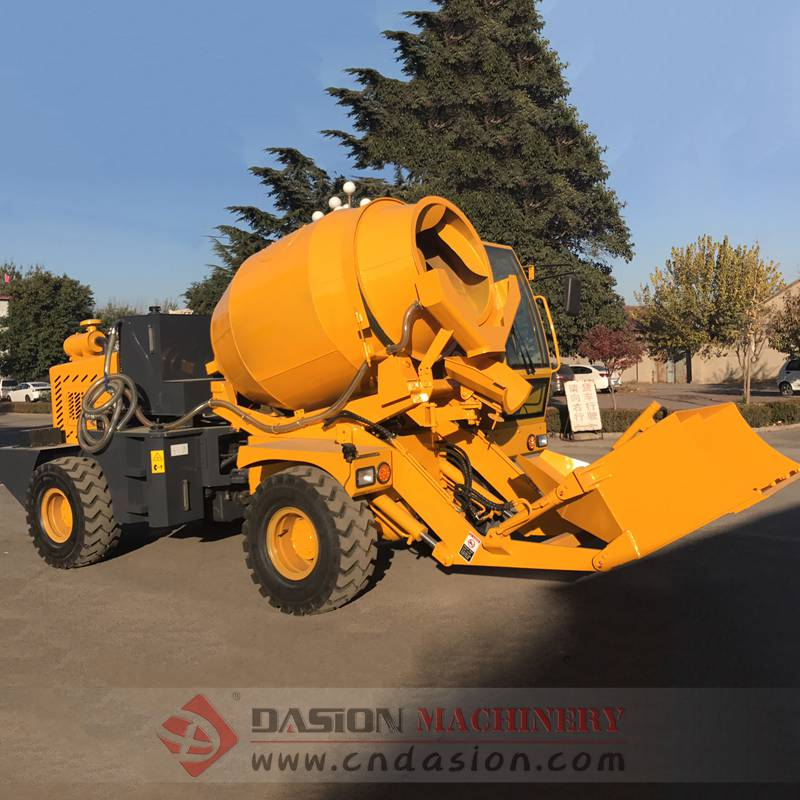 DS1.5 Self Loading Concrete Mixer Truck