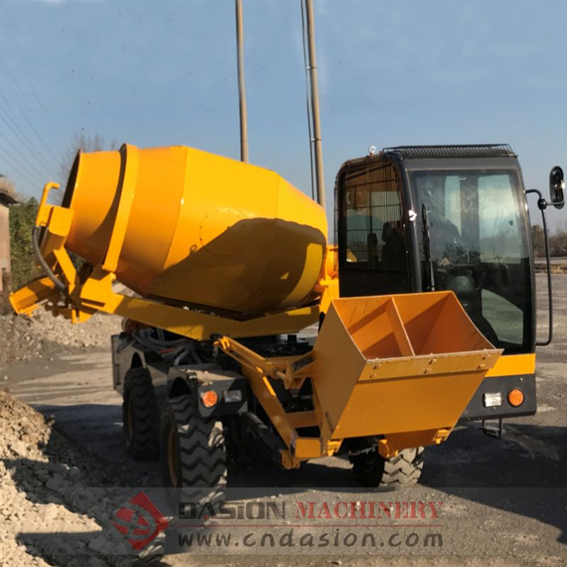 DS2.0 Self Loading Concrete Mixer Truck