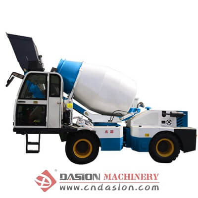 DS2.5 Self-loading Concrete Mixer Truck