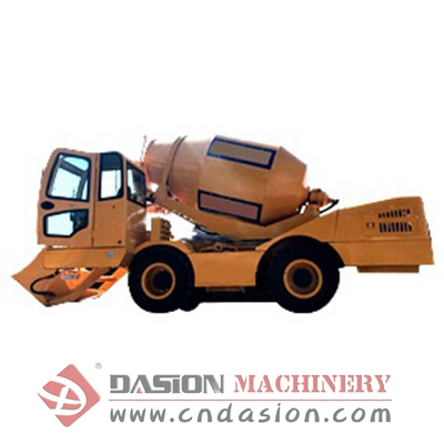 DS4.0 Self Loading Concrete Mixer Truck